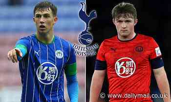 Tottenham 'line up a transfer raid on  Wigan as they move for Joe Gelhardt and Jensen Weir'