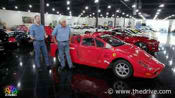 Watch Jay Leno Drive This Ferrari Enzo That's Actually a Pontiac Fiero - The Drive