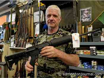 Edmonton gun shops face resupply challenges following massive spike in American firearm purchases - Edmonton Journal