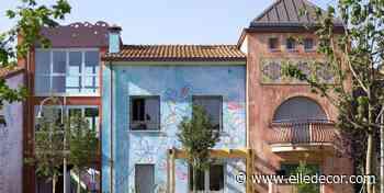 Case morbide, curve e con lo scivolo al posto delle scale: benvenuti nel quartiere progettato da bambini - elledecor.com