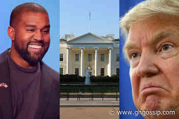 Trouble In Paradise; Kanye West Declares He Is Running For President, Donald Trump's Jaw Drops (Photo) - GH Gossip