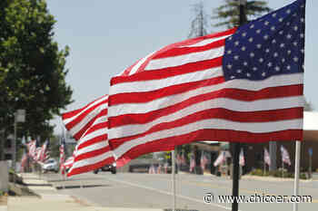 Fourth of July flags fly in Paradise - Chico Enterprise-Record