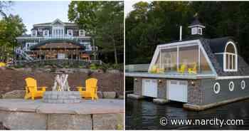 This Stunning $7M Muskoka 'Cottage' Has Everything You Need & Everything Else Too - Narcity Canada