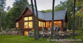 New lake home near Brainerd is paradise on the point - Minneapolis Star Tribune