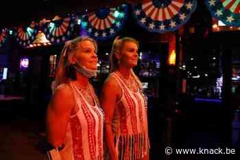 In beeld: zo vierden de Amerikanen 'Independence Day' in coronatijden