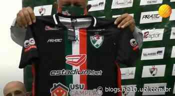 Salgueiro anuncia nova camisa e contratação de centroavante ex-Santa Cruz e Fluminense - NE10