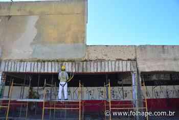 Entre contrariedades discursivas, Santa Cruz explica obras na fachada do Arruda - Folha de Pernambuco