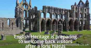 Stunning drone footage captured of Whitby Abbey as English Heritage details the further reopening of its sites - Yorkshire Live