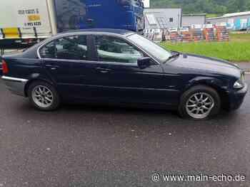 Wer kennt diesen BMW? Fahrer flüchtet nach Unfall bei Bad Mergentheim - Main-Echo