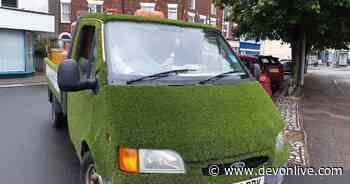 The story behind Exeter's famous 'green grass wagon' - Devon Live