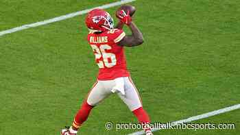 """Chiefs RB coach sees """"big jump"""" for Damien Williams"""