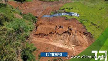 En Jericó, Antioquia, las lluvias volvieron a prender las alarmas - El Tiempo