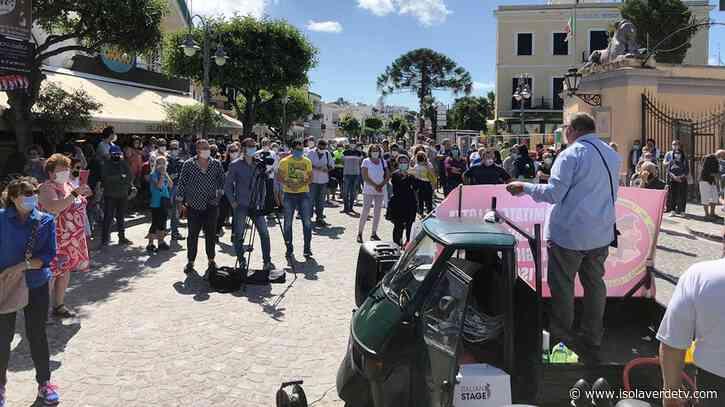 STAGIONALI, MERCOLEDI' A ISCHIA PONTE NUOVA PROTESTAIsola Verde TV - Isolaverdetv