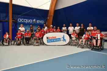 Ripartito da Massa Lombarda il Circuito Junior Wheelchair Tennis Trophy FIT Kinder Joy of Moving - News Rimini