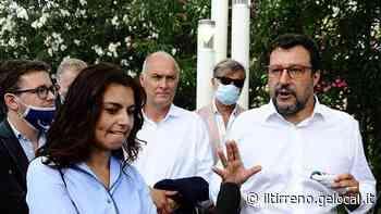 Matteo Salvini sale lunedì 6 luglio ad Albiano Magra - Il Tirreno