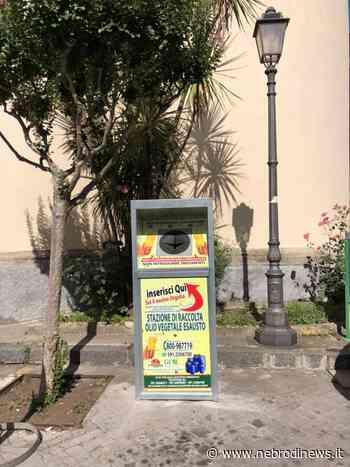 San Piero Patti, al via raccolta degli oli alimentari esausti - Nebrodi News