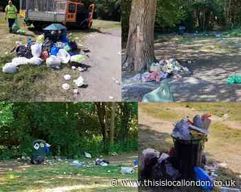 'Unprecedented' amount of litter in Barnet parks   This Is Local London - This is Local London