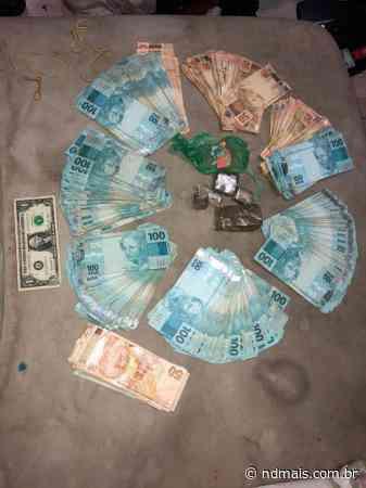 Dinheiro roubado de casa de câmbio em Itapema é achado em casa de mulher - ND