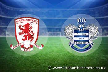 LIVE: Middlesbrough vs QPR