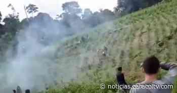 Muere una persona en enfrentamiento entre campesinos y fuerza pública en Puerto Asís - Noticias Caracol