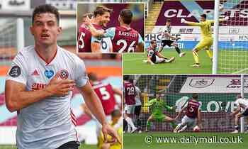 Burnley 1-1 Sheffield United: John Egan's half-volley rescues point for Chris Wilder's side