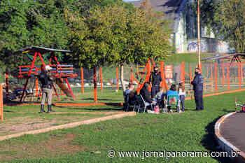 Taquara realiza ação no Parque do Trabalhador para orientar sobre proibição de permanência no local - Panorama