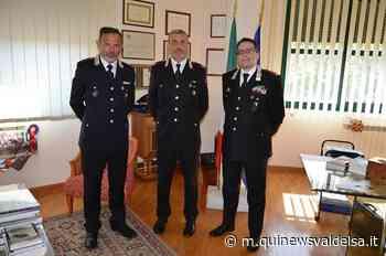 Presentato il nuovo Comandante a San Gimignano - Qui News Valdelsa