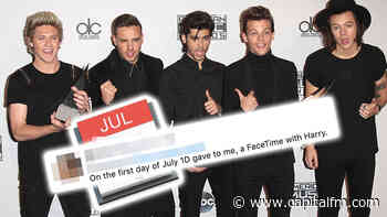 One Direction Fan Makes July Calendar 'So We Can Clown Together' Ahead Of 10-Year Anniversary - Capital