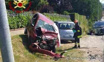 Schianto frontale a Umbertide: morti due fratelli - Umbria 24 News