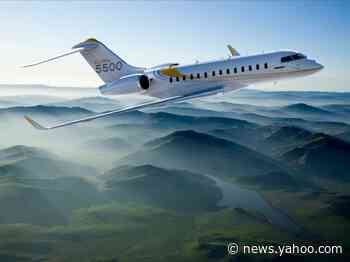 Bombardier just delivered its first Global 5500, a $46 million private jet that can fly nearly 7,000 miles  – see inside