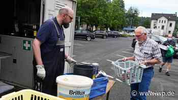 Kreuztal: Beim Lockdown fällt jede Menge Sondermüll an - Westfalenpost