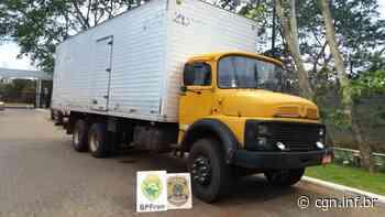 Caminhão com cigarros contrabandeados é apreendido em Terra Roxa - CGN