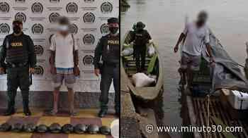 FOTO: Escondiendo 11 tortugas que llevaba ilegalmente cogieron a un sujeto en el municipio de Caucasia - Minuto30.com