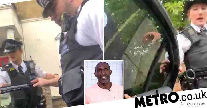 Linford Christie accuses Met of racism after athletes pulled over and handcuffed