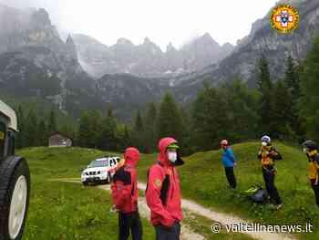 Tarvisio provincia di Udine difficile recupero in parete con vericello - Valtellina News
