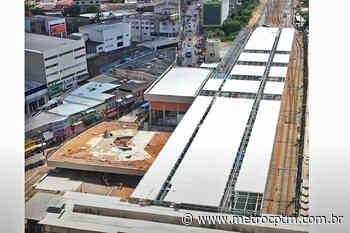 Nova estação Francisco Morato deverá ser entregue no início do segundo semestre - Metrô CPTM