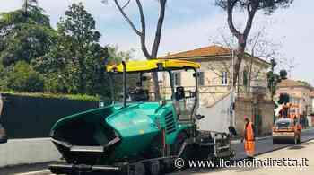 Lavori di asfaltatura, doppio senso unico alternato a Fucecchio - IlCuoioInDiretta