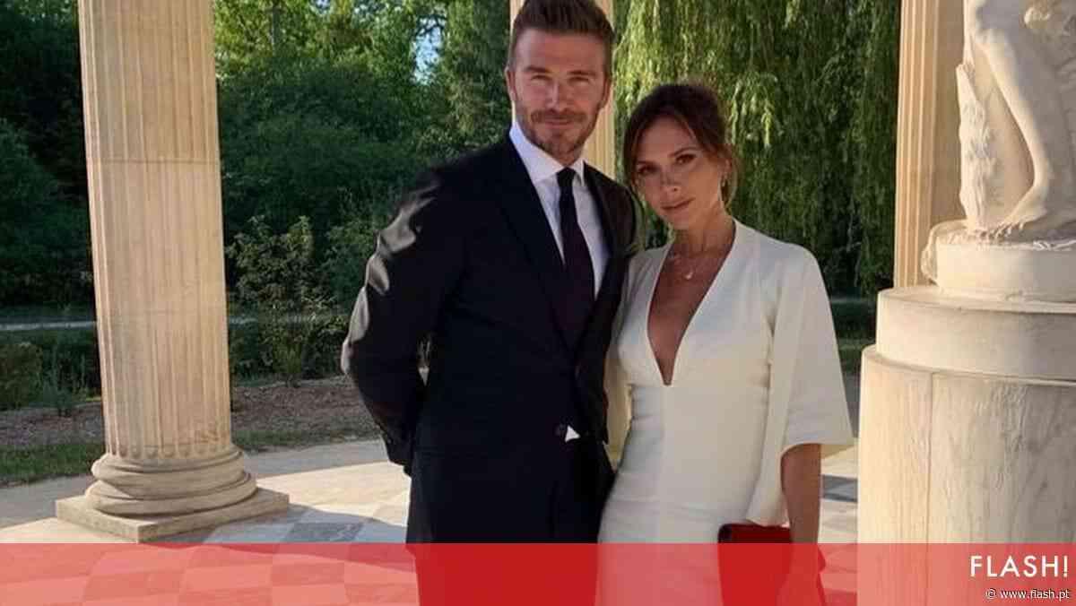 David e Vitoria Beckham celebram 21 anos de casados sob rumores de separação - Flash