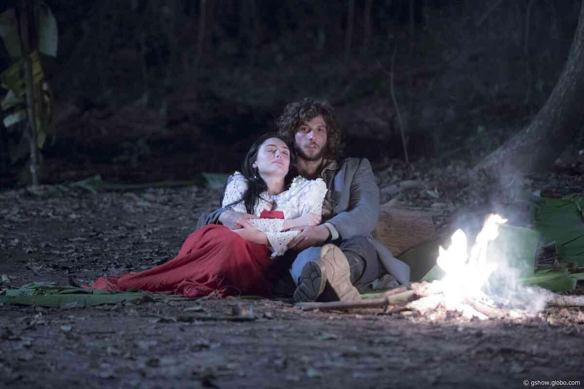 Anna revela a Joaquim que ele é o pai de Vitoria - gshow