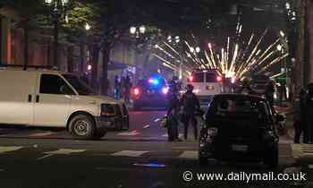 Police declare a riot twice on July 4 amid protests in Portland