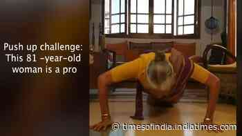 Push up challenge: This 81-year-old woman is a pro