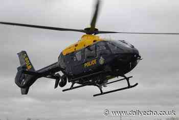 Southampton car chase involving police helicopter underway