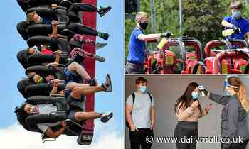 Thrillseekers flock to Thorpe Park as rollercoasters reopen for first time since lockdown