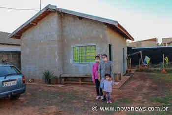 Lote Urbanizado: Mais 48 famílias de Nova Andradina realizam sonho da casa própria - Nova News - Nova News