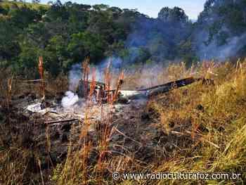Helicóptero que transportava cocaína cai na região dos Campos Gerais, no Paraná - Rádio Cultura Foz