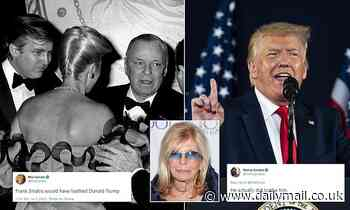 Frank Sinatra hated Donald Trump, the late singer's daughter tells her former stepmother Mia Farrow
