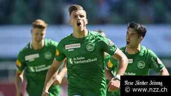Super League: Der FC St. Gallen erkämpft sich einen 2:1-Sieg über den FC Sion und bleibt auf Meisterkurs