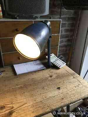 Vintage Invisaflex Machinist Engineers Lamp