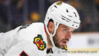 Blackhawks' Brent Seabrook will try to play in NHL postseason and qualifying rounds