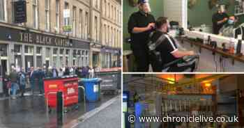 One-way systems, PPE and table service - the new pub experience in Newcastle